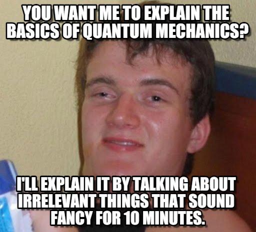 อย่าด่วนตีความแบบควอนตัมถ้าไม่จำเป็น